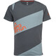 La Sportiva Slab Shortsleeve Shirt Men grey/blue